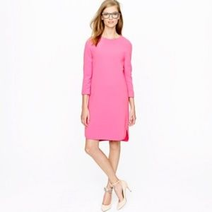 J. CREW Collection Crepe Shift Dress